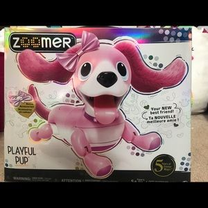 New Zoomer Dog robot pet